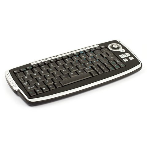 2.4 GHz Wireless Mini Keyboard with Trackball Preview 1