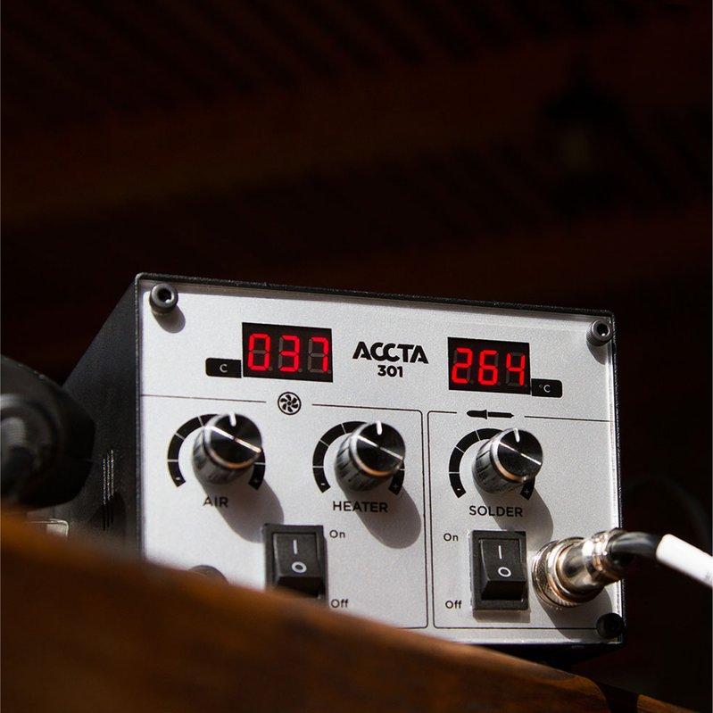 Термоповітряна паяльна станція Accta 301 Зображення 9