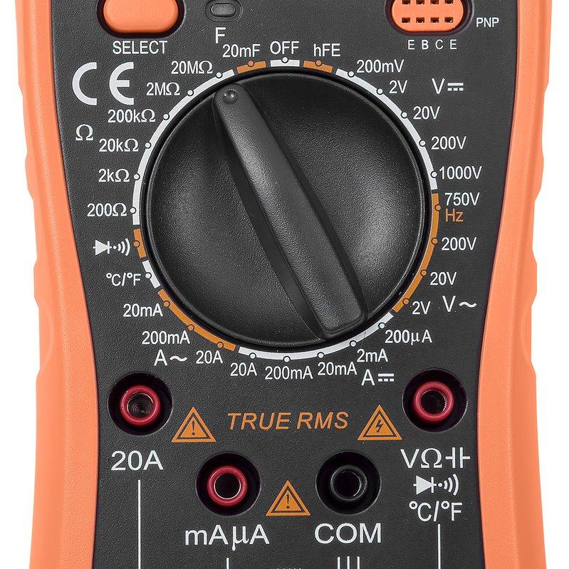Цифровий мультиметр Accta AT-290 Зображення 6