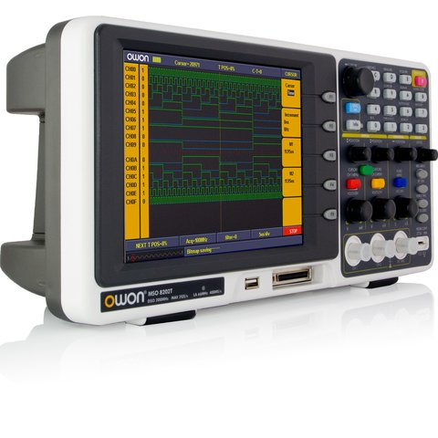 Цифровий осцилограф змішаних сигналів OWON MSO8202T Прев'ю 1