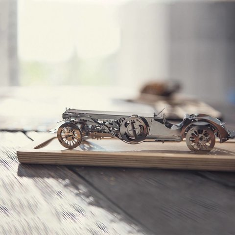 Металевий механічний 3D-пазл Time4Machine Glorious Cabrio Прев'ю 15
