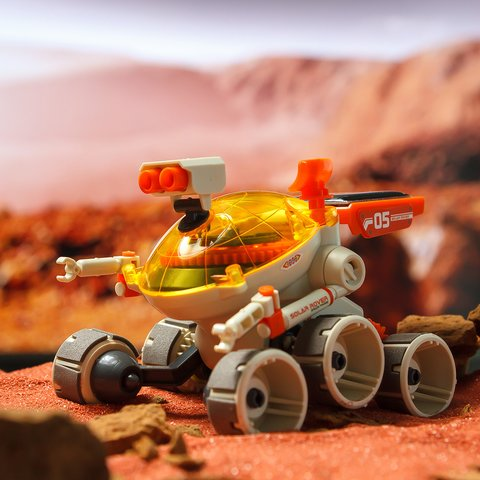 Марсоход, STEAM-конструктор на солнечных батареях CIC 21-684 - /*Photo|product*/