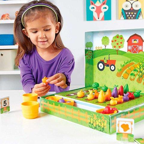 Навчальний ігровий набір-сортер Learning Resources Розумний Фермер Прев'ю 4