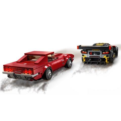 Конструктор LEGO Скоростные гонки Chevrolet Corvette 76903 Превью 4