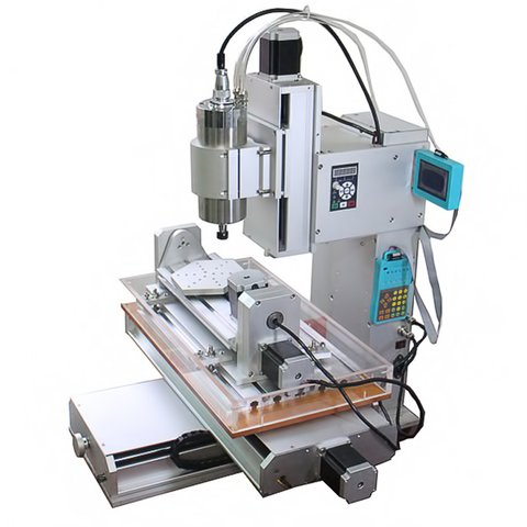 5-axis CNC Router Engraver ChinaCNCzone HY-6040 (2200 W) Preview 2