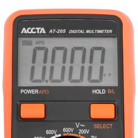 Digital Multimeter Accta AT-205 Preview 8