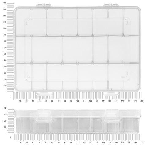 Utility Component Storage Box Pro'sKit 203-132E Preview 1